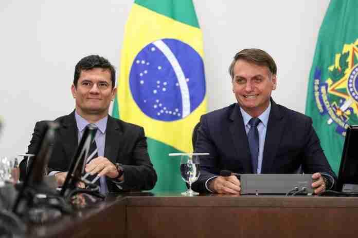 Sergio Moro foi ministro de Bolsonaro por quase um ano e cinco meses | Foto: Marcos Corrêa/PR