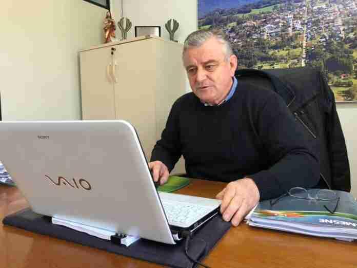 Prefeito de Cotiporã, José Carlos Breda, representa municípios da Encosta Nordeste   Foto: Divulgação/Amesne