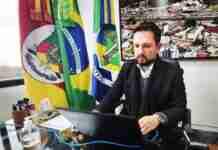 Prefeito Leonardo Pascoal detalhou mudanças nas regras de distanciamento em Esteio   Foto: Divulgação/PME
