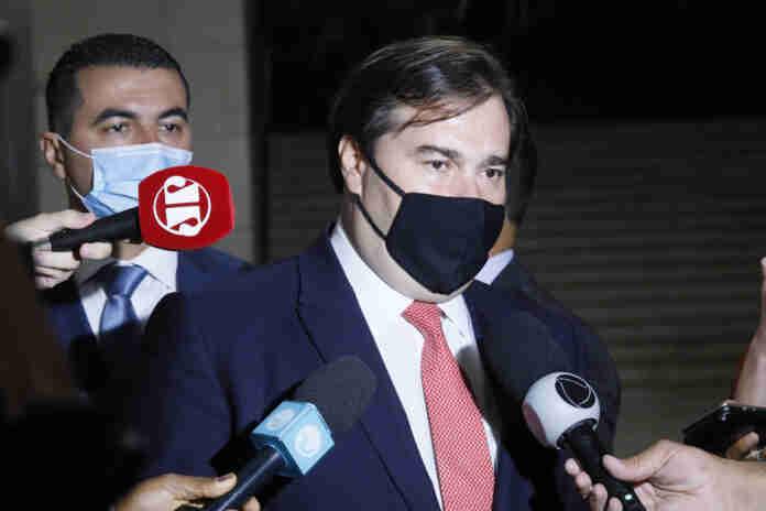 No domingo (23), Rodrigo Maia defendeu liberdade de imprensa após declarações do presidente Jair Bolsonaro | Foto: Michel Jesus/Câmara dos Deputados