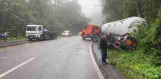 Trânsito da ERS-122 é desviado por outras rodovias na Serra | Foto: Divulgação/CRBM/CP